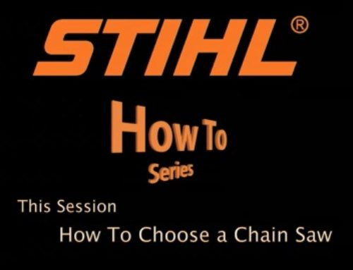 Selecting a Chainsaw